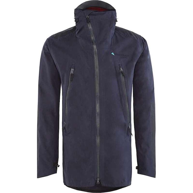 クレッタルムーセン メンズ ジャケット・ブルゾン アウター Klattermusen Men's Midgard Shell Jacket Storm Blue