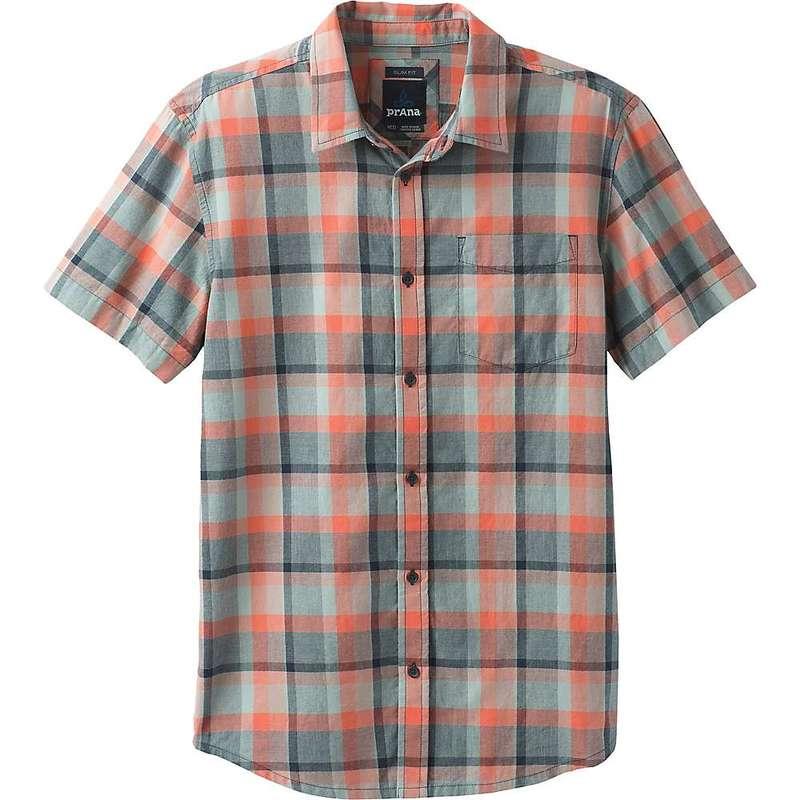 プラーナ メンズ シャツ トップス Prana Men's Bryner Shirt - Standard Agave