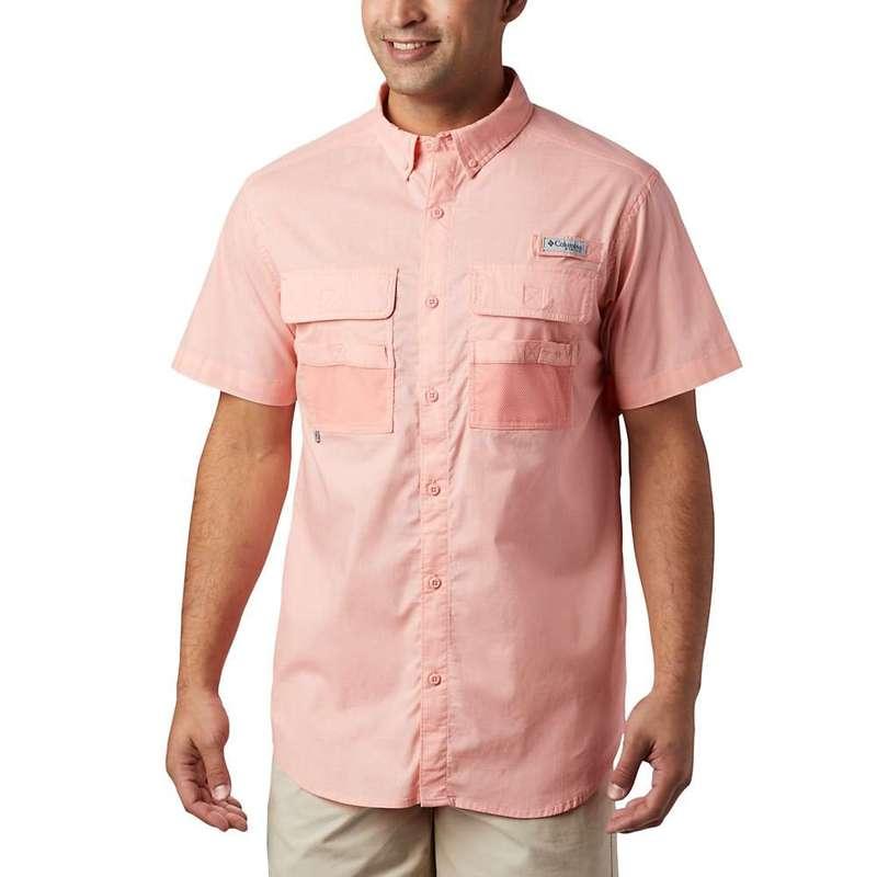 コロンビア メンズ シャツ トップス Columbia Men's Half Moon SS Shirt Sorbet