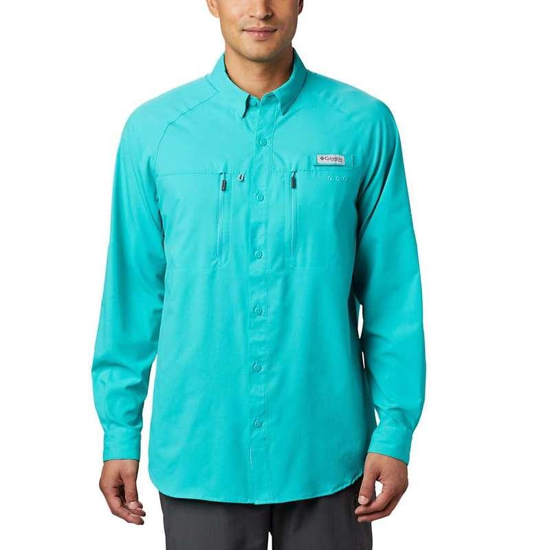 コロンビア メンズ シャツ トップス Columbia Men's Terminal Tackle LS Woven Shirt Bright Aqua