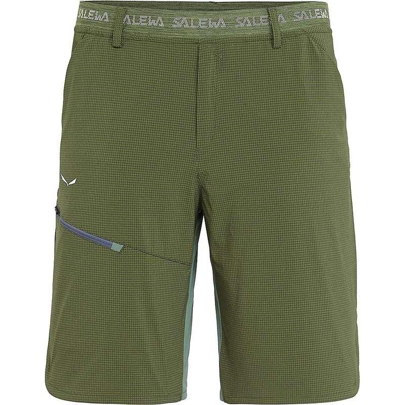 サレワ メンズ ハーフパンツ・ショーツ ボトムス Salewa Men's Puez 3 DST Short Kombu Green