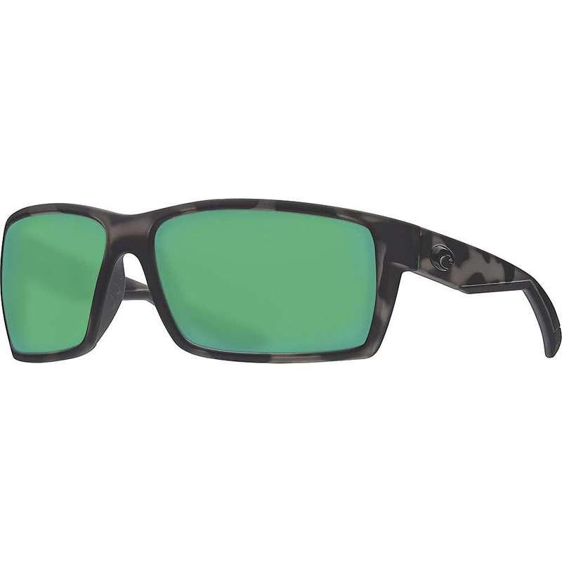 コスタデルマール メンズ サングラス・アイウェア アクセサリー Costa Del Mar Men's Reefton Polarized Sunglasses Ocearch Matte Tiger Shark/Green Mirror 580G