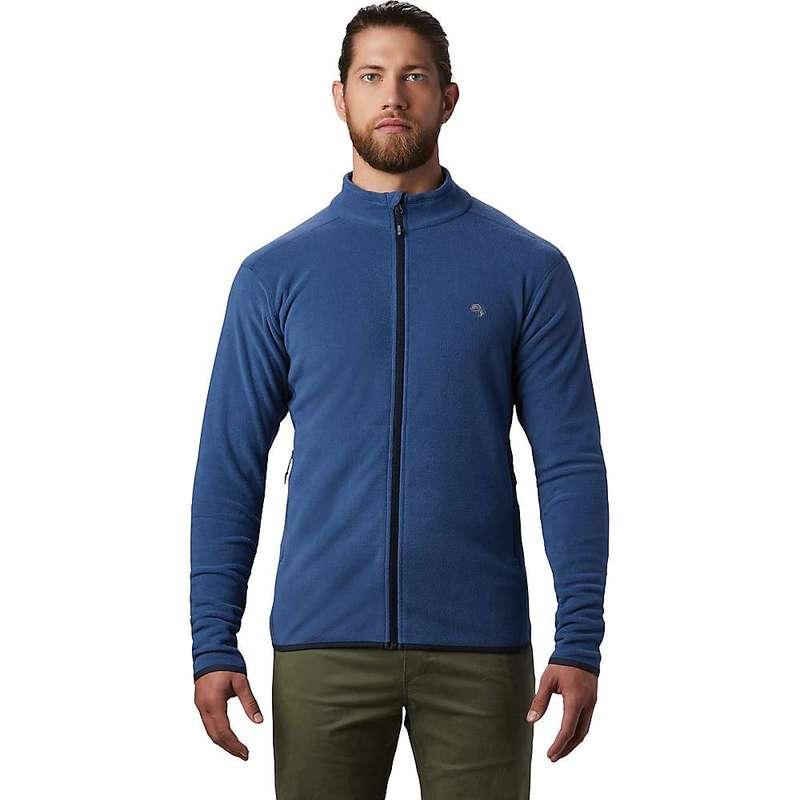 マウンテンハードウェア メンズ ジャケット・ブルゾン アウター Mountain Hardwear Men's Macrochill Full Zip Jacket Better Blue