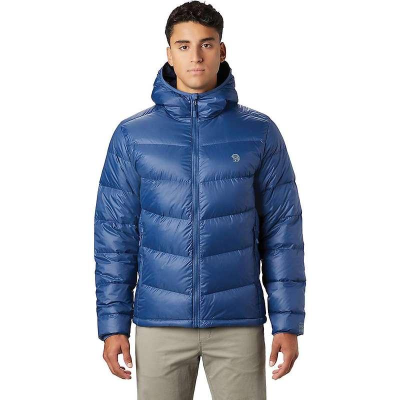 マウンテンハードウェア メンズ ジャケット・ブルゾン アウター Mountain Hardwear Men's Mt. Eyak Down Hoody Better Blue
