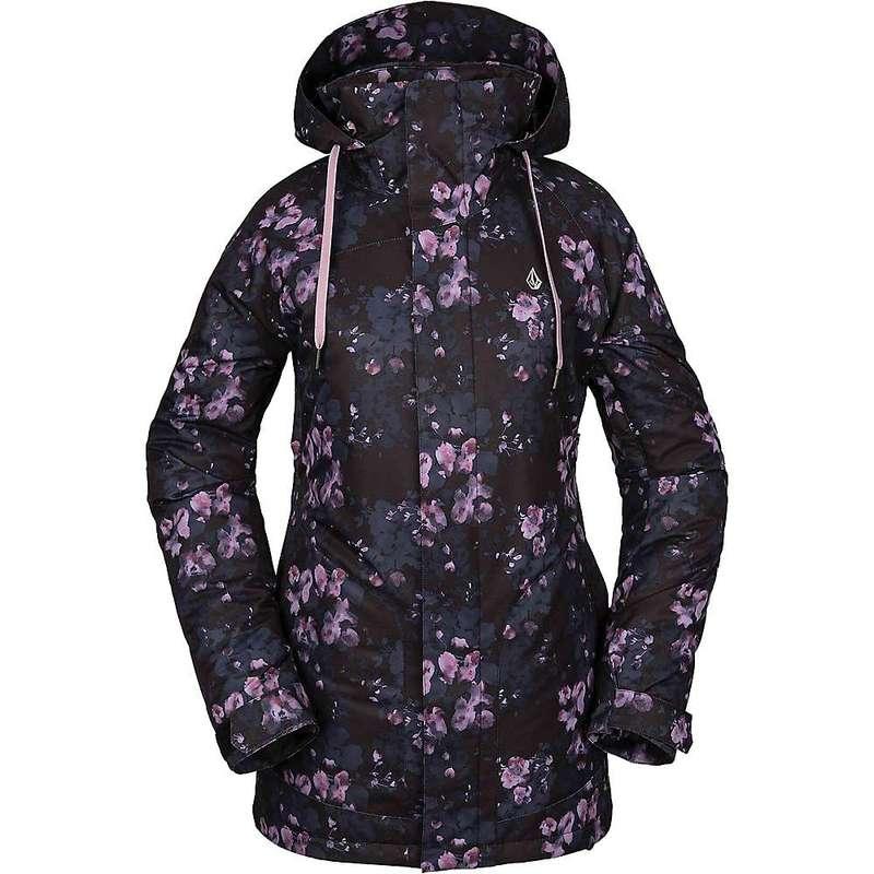 ボルコム レディース ジャケット・ブルゾン アウター Volcom Women's Westland Insulated Jacket Black Floral Print