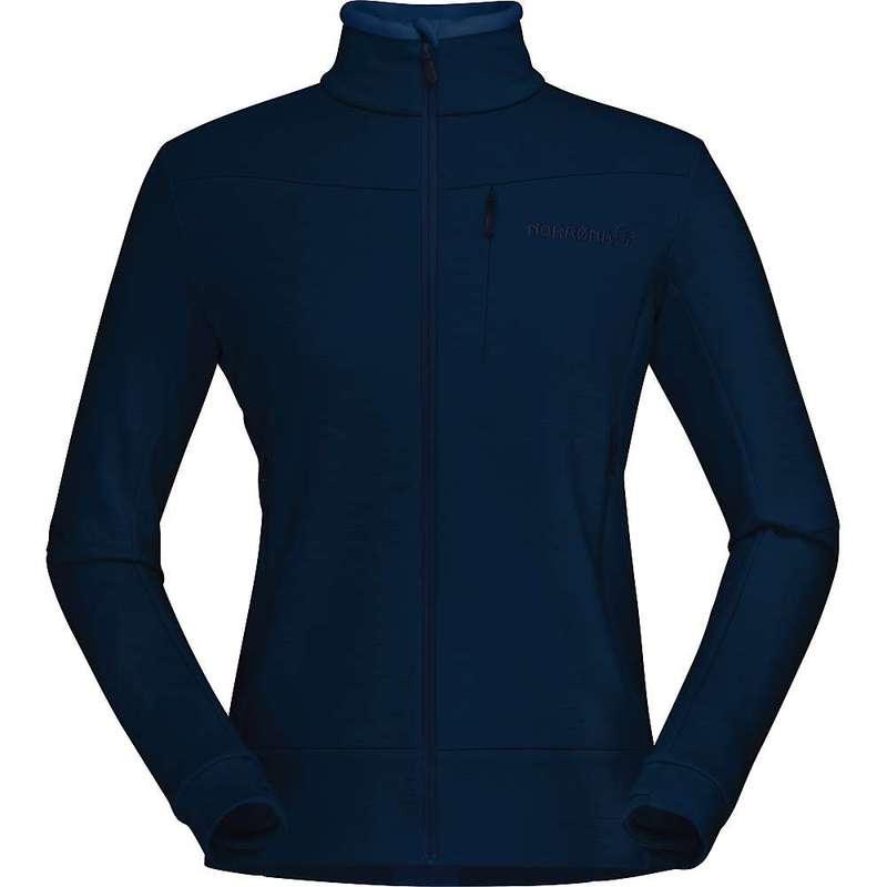 ノローナ レディース ジャケット・ブルゾン アウター Norrona Women's Falketind Warmwool2 Stretch Jacket Indigo Night