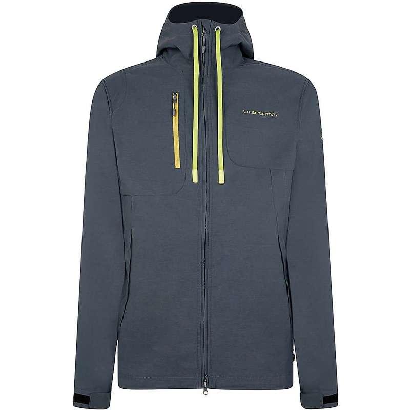 ラスポルティバ メンズ ジャケット・ブルゾン アウター La Sportiva Men's Jolly Jacket Carbon / Kiwi