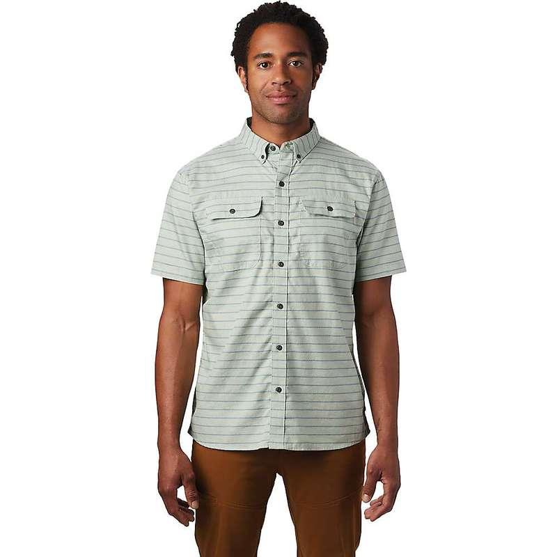 マウンテンハードウェア メンズ シャツ トップス Mountain Hardwear Men's Crystal Valley SS Shirt Glacial Mint