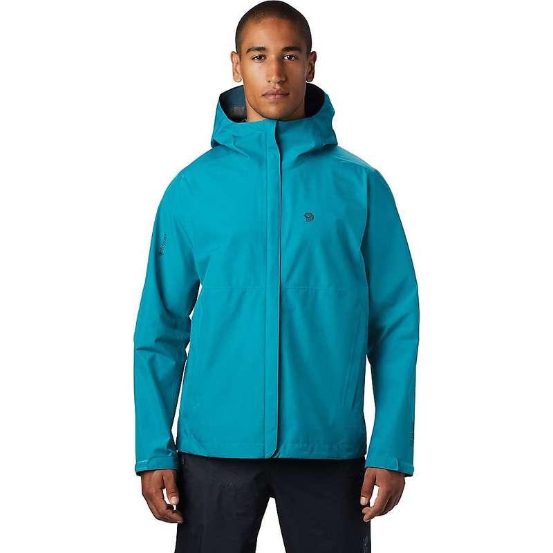 マウンテンハードウェア メンズ ジャケット・ブルゾン アウター Mountain Hardwear Men's Exposure/2 GTX Paclite Jacket Vivid Teal