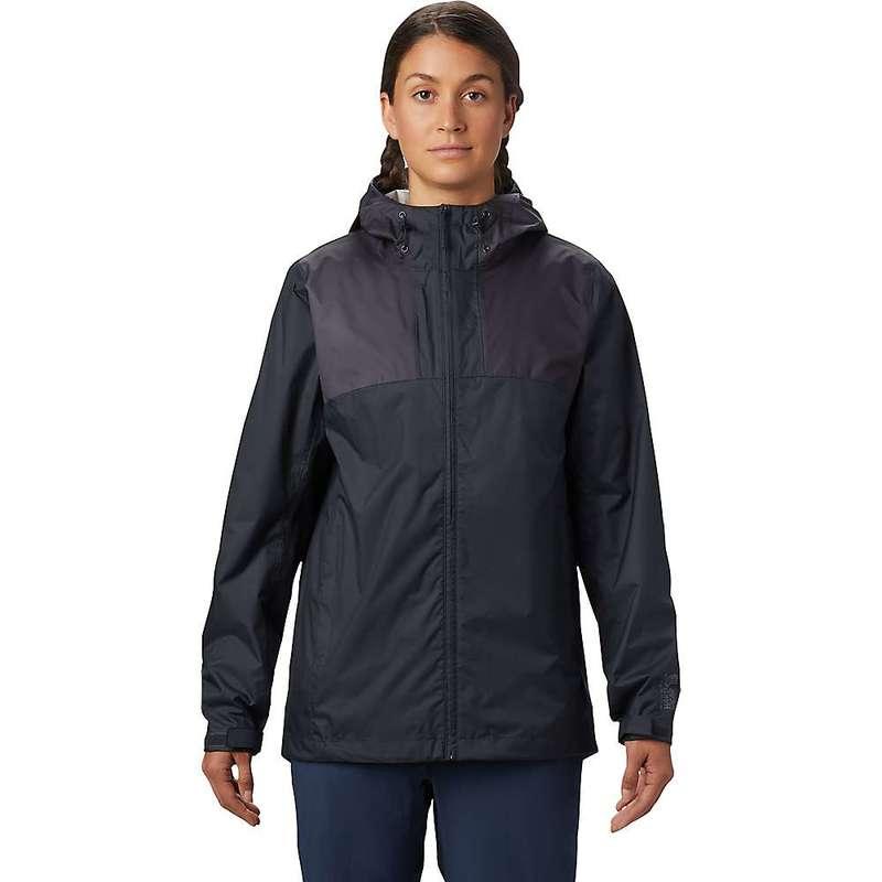 マウンテンハードウェア レディース ジャケット・ブルゾン アウター Mountain Hardwear Women's Bridgehaven Jacket Dark Storm