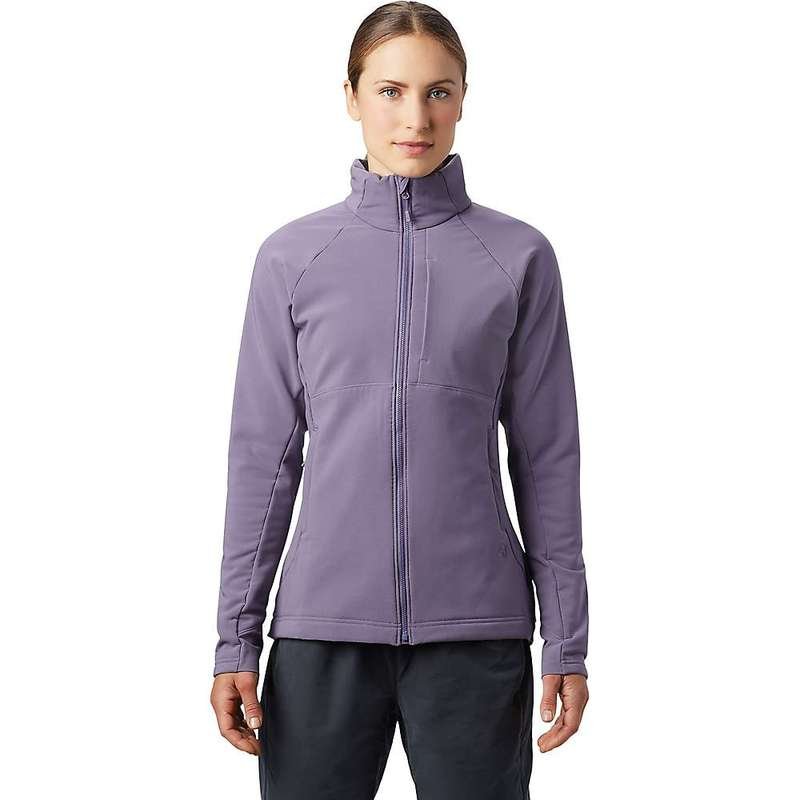 マウンテンハードウェア レディース ジャケット・ブルゾン アウター Mountain Hardwear Women's Keele Full Zip Jacket Dusted Sky
