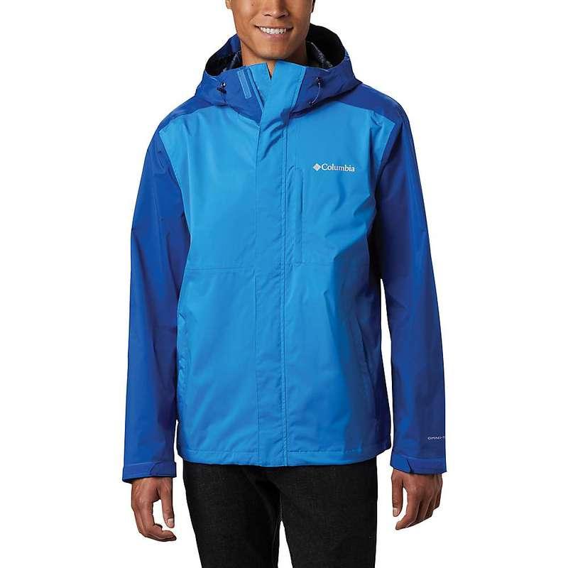コロンビア メンズ ジャケット・ブルゾン アウター Columbia Men's Cabot Trail Jacket Azure Blue/Azul
