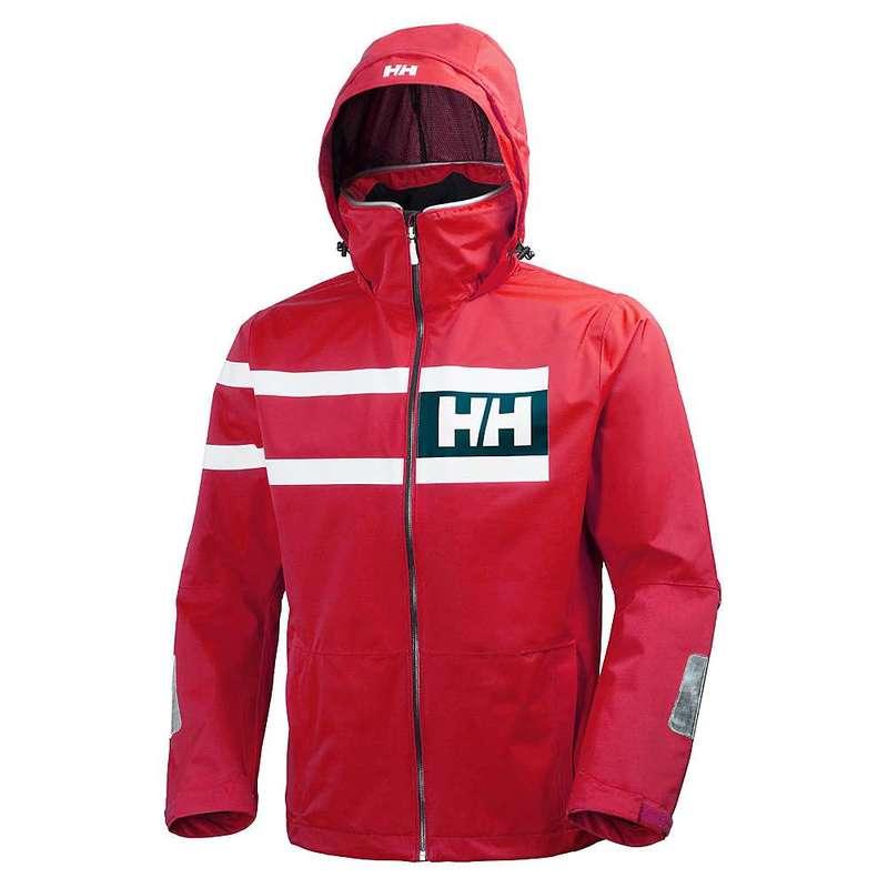 ヘリーハンセン メンズ ジャケット・ブルゾン アウター Helly Hansen Men's Salt Power Jacket Red