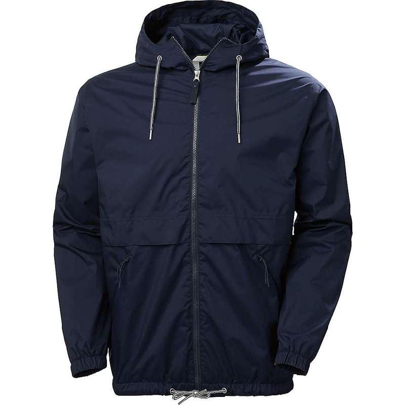 ヘリーハンセン メンズ ジャケット・ブルゾン アウター Helly Hansen Men's JPN Rain Jacket Navy