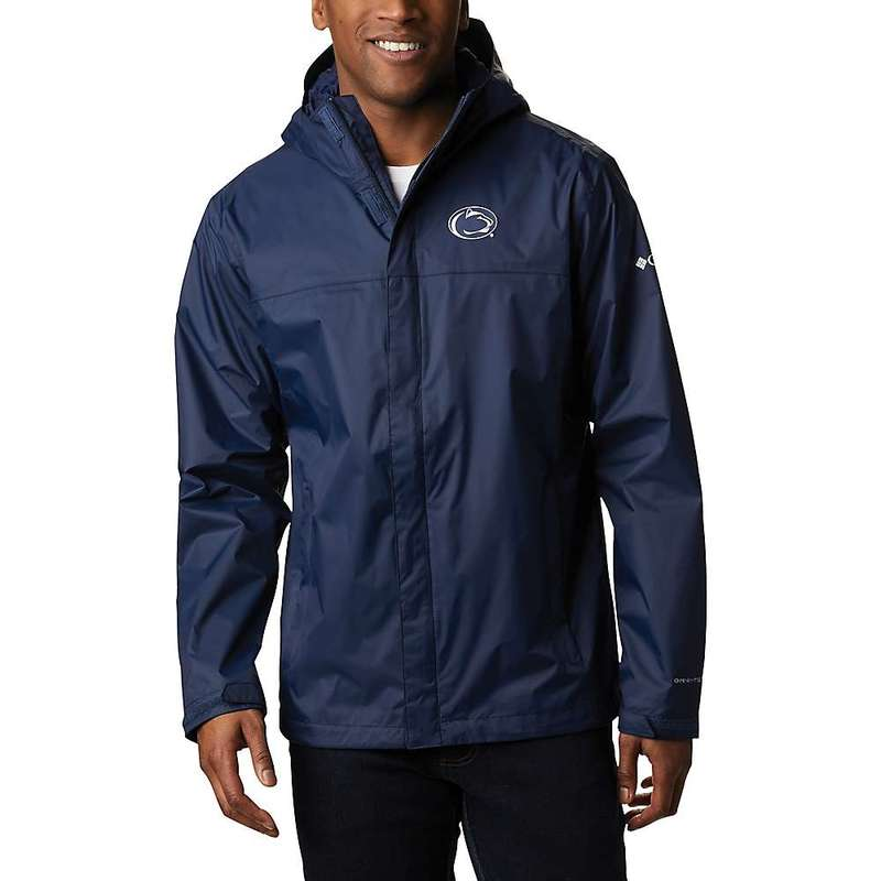 コロンビア メンズ ジャケット・ブルゾン アウター Columbia Men's Collegiate Watertight II Jacket PSU - Collegiate Navy