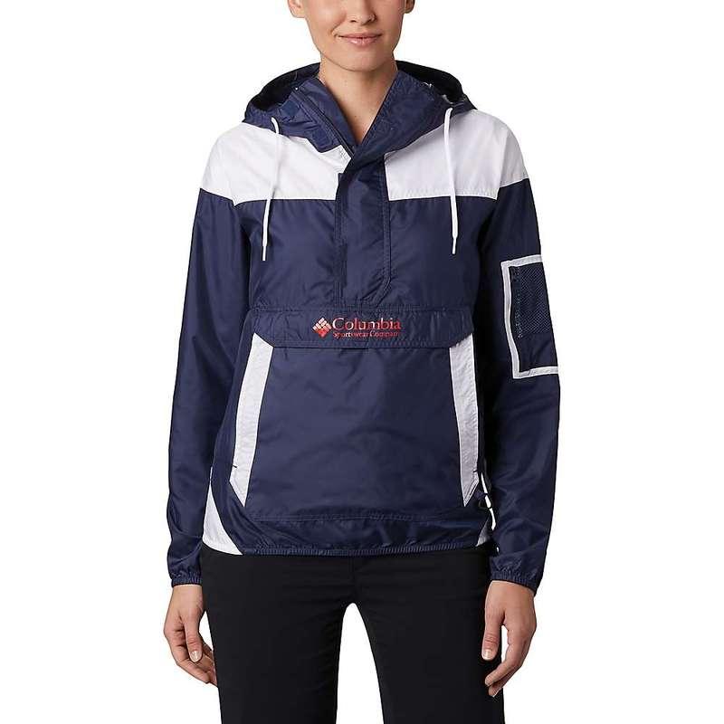 コロンビア レディース ジャケット・ブルゾン アウター Columbia Women's Challenger Windbreaker Jacket Nocturnal/White
