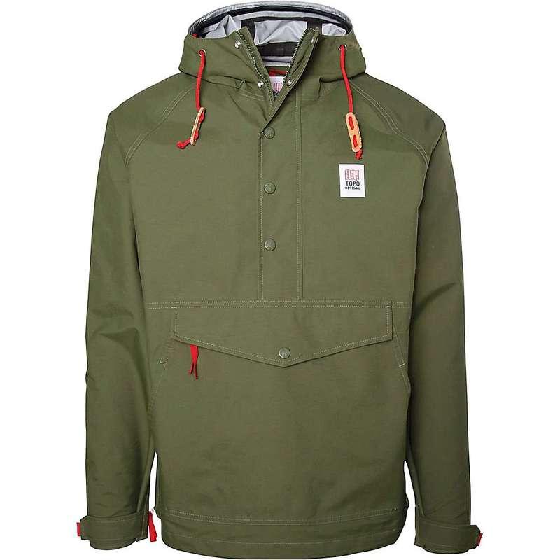 トポ・デザイン メンズ ジャケット・ブルゾン アウター Topo Designs Men's Tech Anorak 3L Jacket Olive