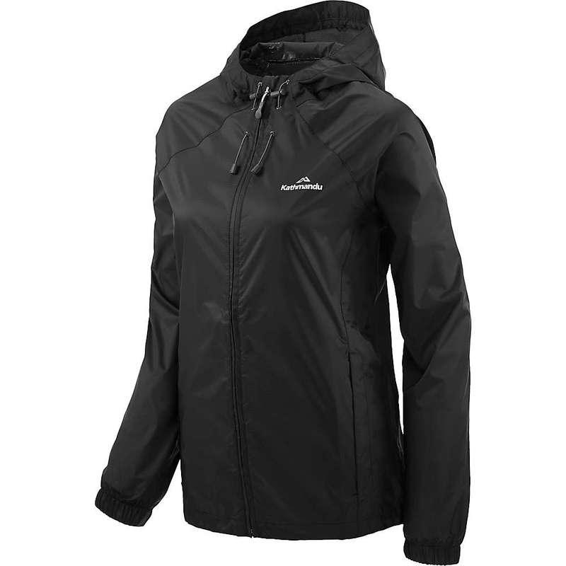 カトマンズ レディース ジャケット・ブルゾン アウター Kathmandu Women's Pocket-It V3 Rain Jacket Black