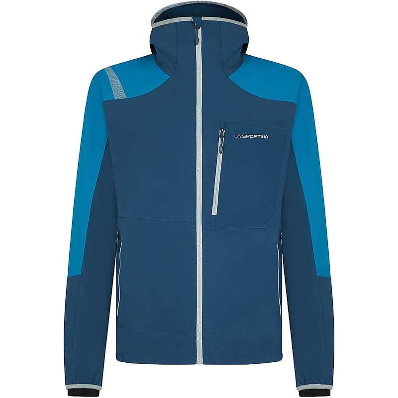 ラスポルティバ メンズ ジャケット・ブルゾン アウター La Sportiva Men's Albigna Jacket Opal / Neptune
