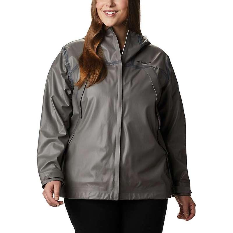 コロンビア レディース ジャケット・ブルゾン アウター Columbia Women's Outdry EX Eco Shell Jacket City Grey