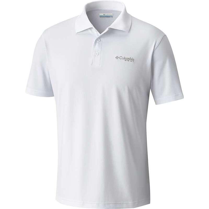 コロンビア メンズ シャツ トップス Columbia Men's Skiff Cast Polo Shirt White
