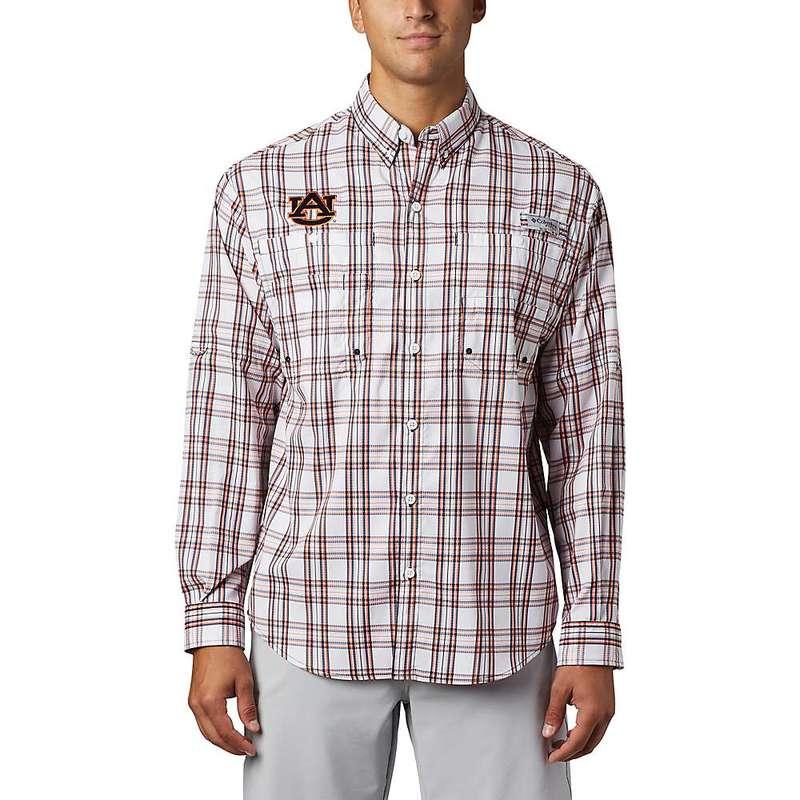 コロンビア メンズ シャツ トップス Columbia Men's Collegiate Super Tamiami LS Shirt Aub-Collegiate Navy Tartan Plaid