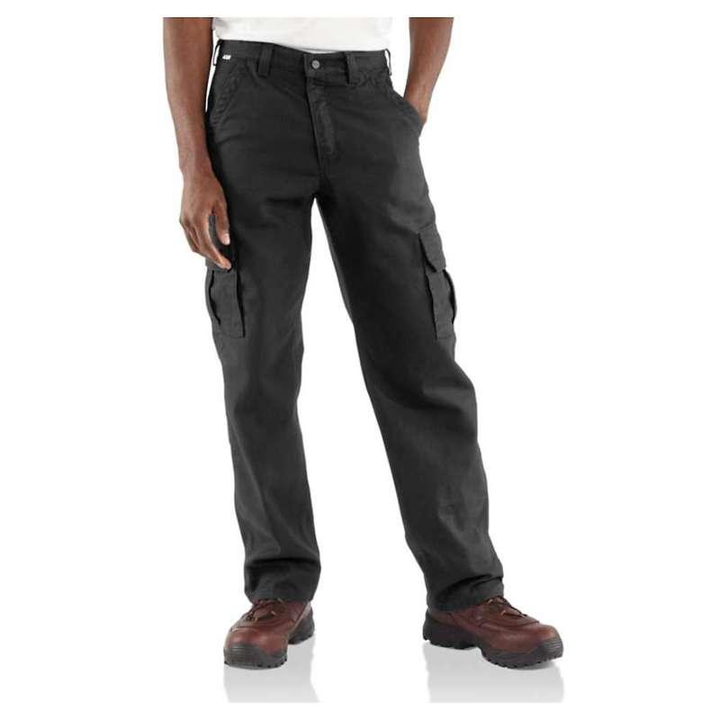 カーハート メンズ カジュアルパンツ ボトムス Carhartt Men's Flame Resistant Canvas Cargo Pant Black
