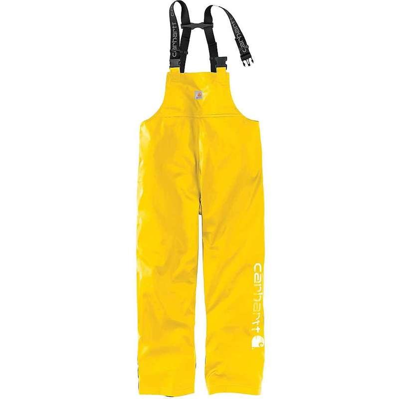 カーハート メンズ カジュアルパンツ ボトムス Carhartt Men's Lightweight Rain Storm Bib Overall Yellow