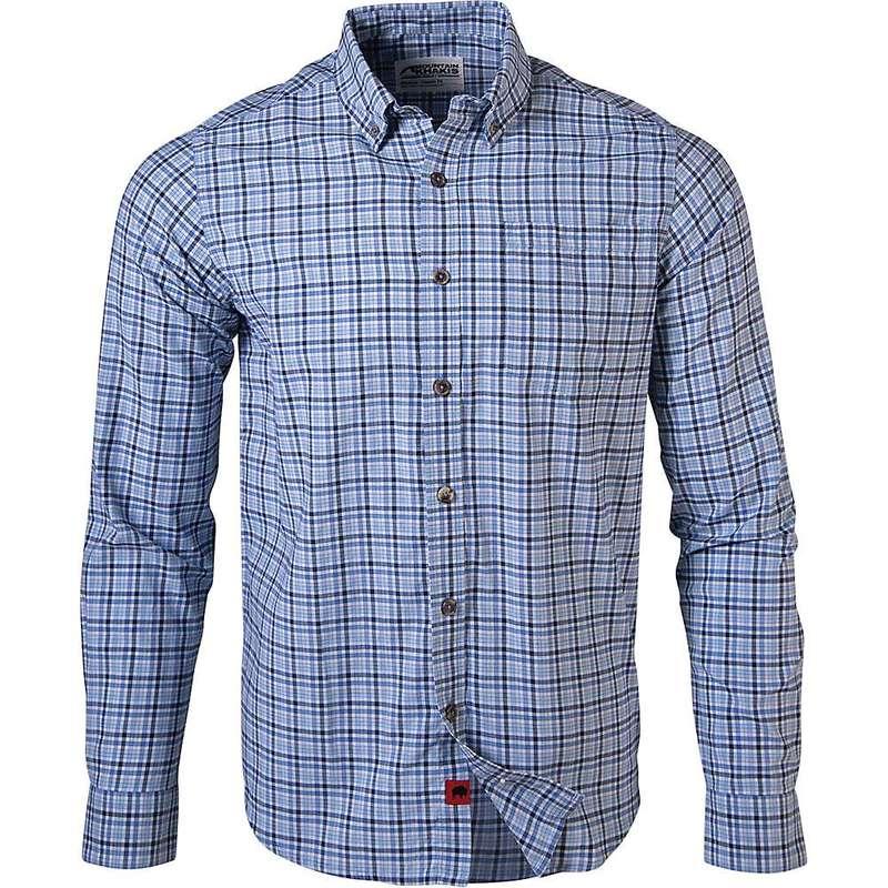 マウンテンカーキス メンズ シャツ トップス Mountain Khakis Men's Spalding Gingham LS Shirt Stellar
