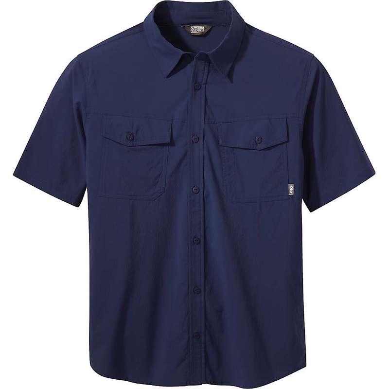 アウトドアリサーチ メンズ シャツ トップス Outdoor Research Men's Wanderer SS Shirt Twilight