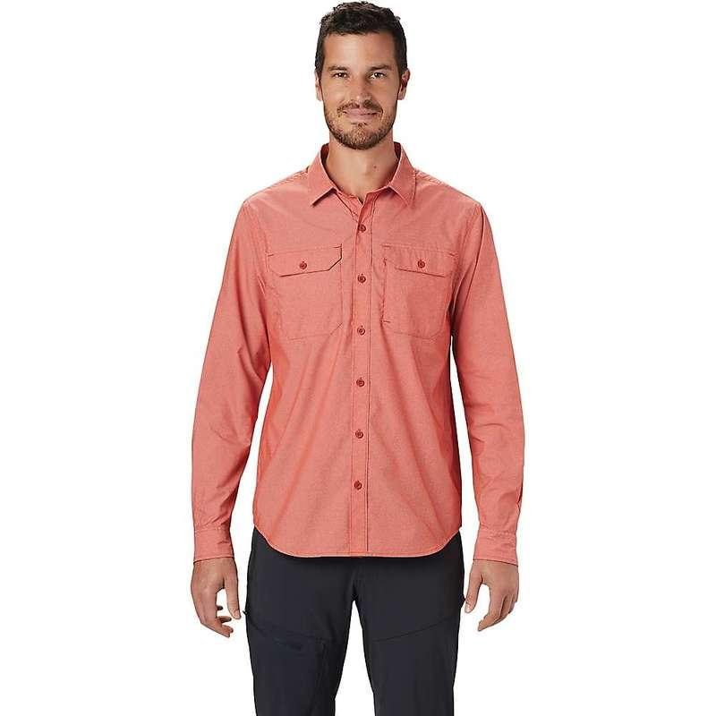 マウンテンハードウェア メンズ シャツ トップス Mountain Hardwear Men's Canyon Pro LS Shirt Desert Red