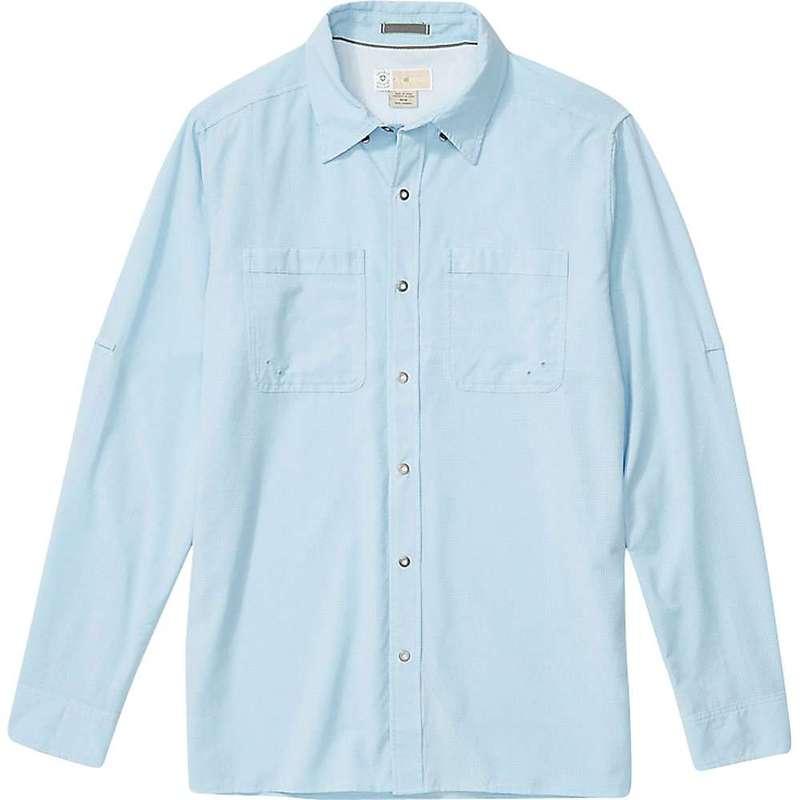 エクスオフィシオ メンズ シャツ トップス ExOfficio Men's BugsAway Tiburon LS Shirt Blue Bell