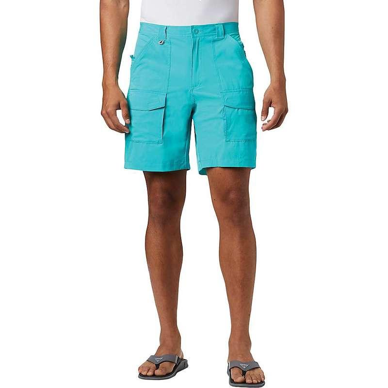 コロンビア メンズ ハーフパンツ・ショーツ ボトムス Columbia Men's Permit III 8 Inch Short Bright Aqua