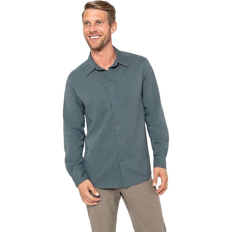 ゴーライト メンズ シャツ トップス GoLite Men's ReTrek Hybrid LS Shirt Storm