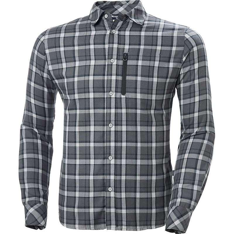 ヘリーハンセン メンズ シャツ トップス Helly Hansen Men's Lokka LS Shirt Grey Fog Check