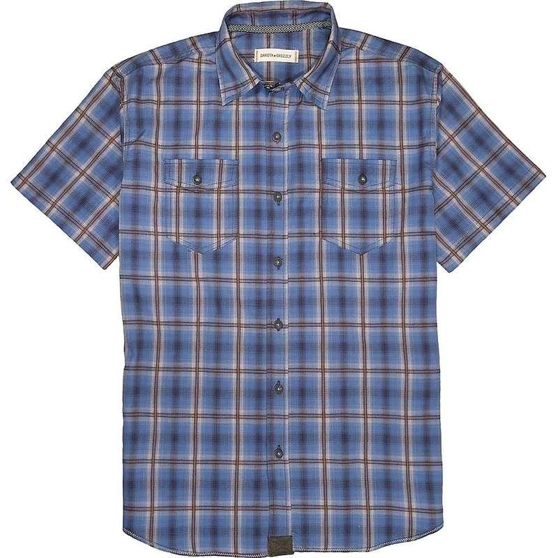 ダコタグリズリー メンズ シャツ トップス Dakota Grizzly Men's Axton SS Shirt Midnight