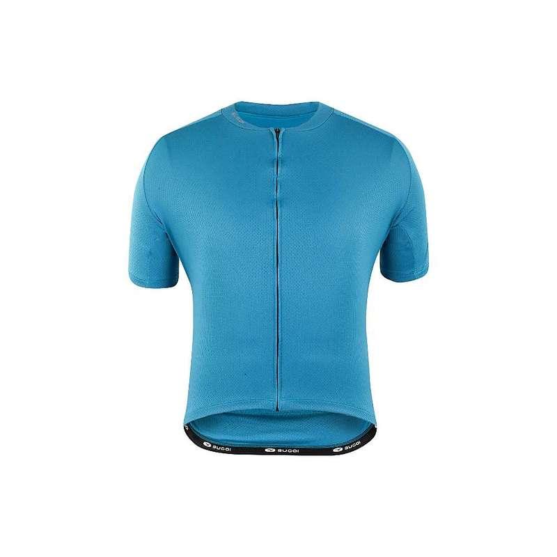 スゴイ メンズ シャツ トップス Sugoi Men's Essence Jersey Azure