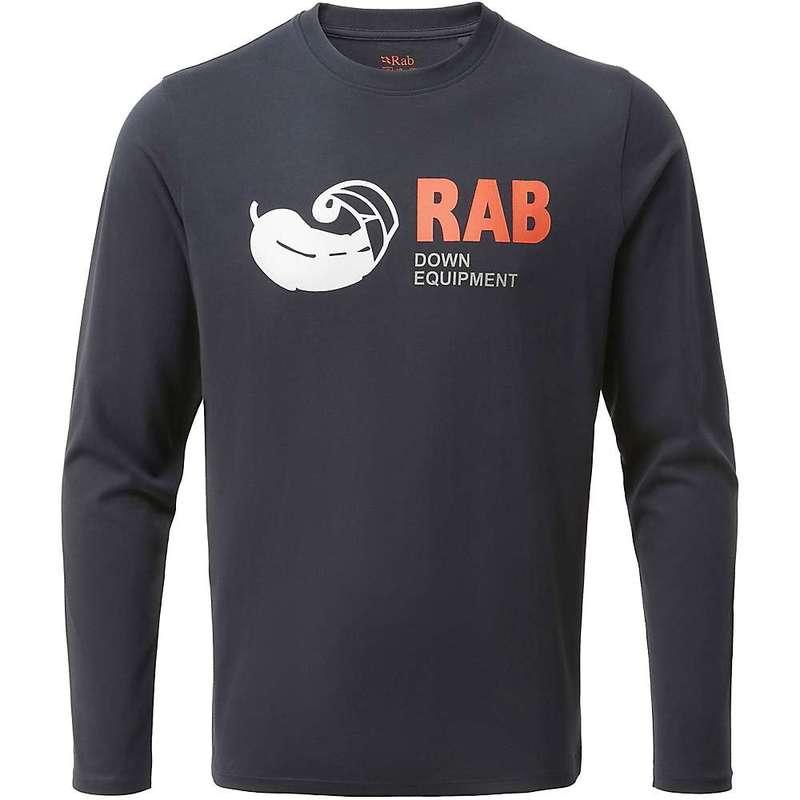 ラブ メンズ シャツ トップス Rab Men's Stance Vintage LS Tee Beluga