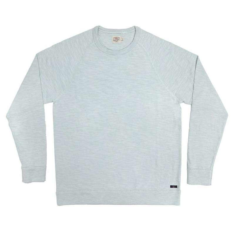 ファレティ メンズ パーカー・スウェット アウター Faherty Men's Raglan Sweatshirt Glacier Blue