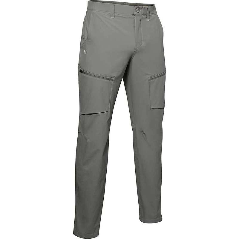 アンダーアーマー メンズ カジュアルパンツ ボトムス Under Armour Men's Canyon Cargo Pant Gravity Green / Summit White