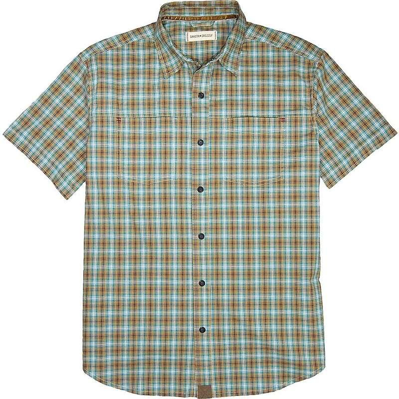 ダコタグリズリー メンズ シャツ トップス Dakota Grizzly Men's Yates SS Shirt Peacock