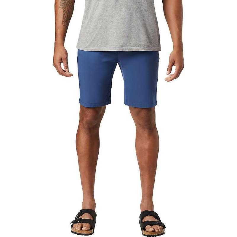 マウンテンハードウェア メンズ ハーフパンツ・ショーツ ボトムス Mountain Hardwear Men's Ap-5 9 Inch Short Better Blue