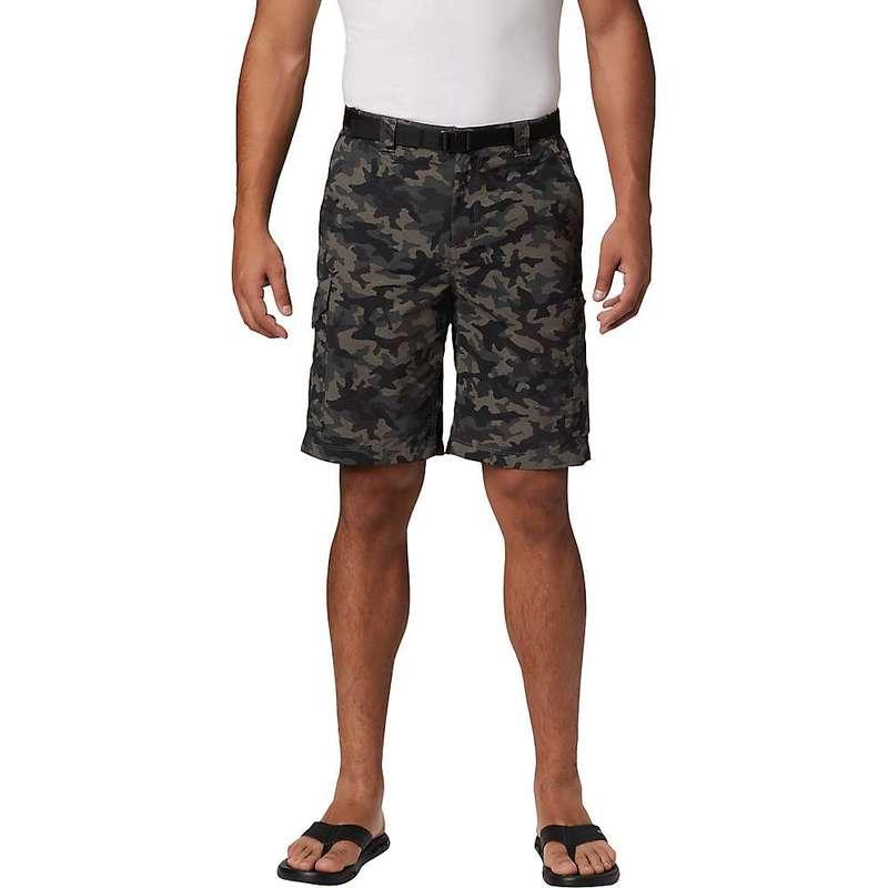 コロンビア メンズ ハーフパンツ・ショーツ ボトムス Columbia Men's Silver Ridge Printed 10 Inch Cargo Short Black Camo