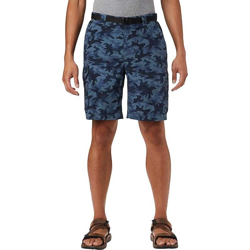 コロンビア メンズ ハーフパンツ・ショーツ ボトムス Columbia Men's Silver Ridge Printed 10 Inch Cargo Short Collegiate Navy Camo