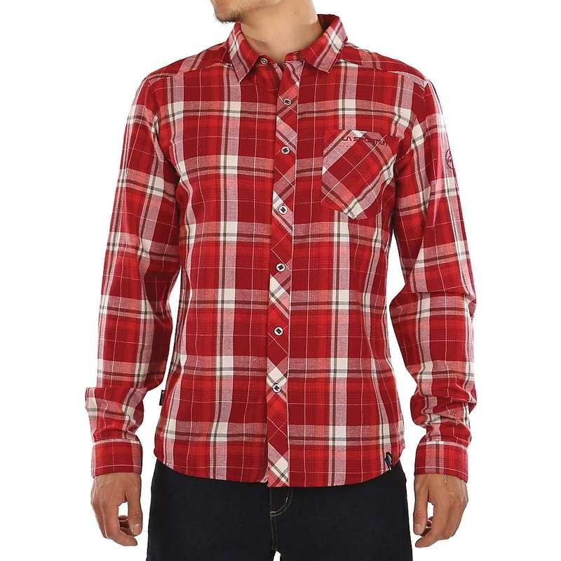 ラスポルティバ メンズ シャツ トップス La Sportiva Men's Sasquatch Shirt Chili / Poppy