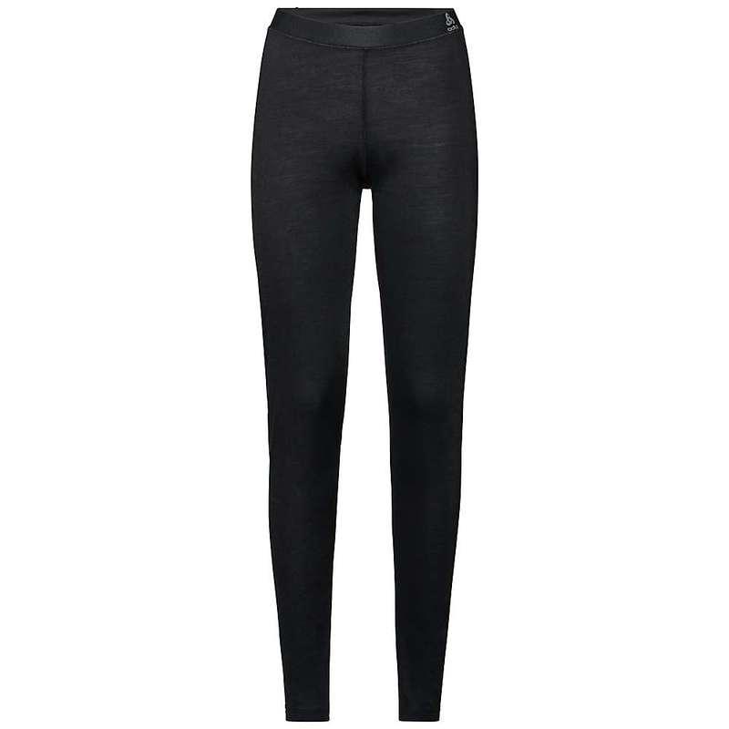 オドロ レディース カジュアルパンツ ボトムス Odlo Women's Natural + Light SUW Baselayer Pant Black