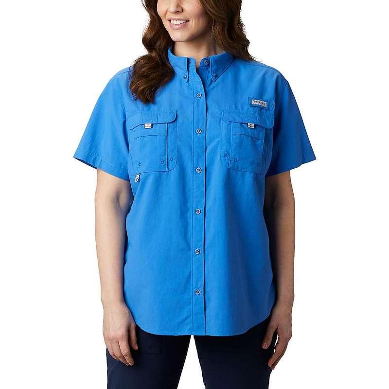 コロンビア レディース シャツ トップス Columbia Women's Bahama SS Shirt Stormy Blue