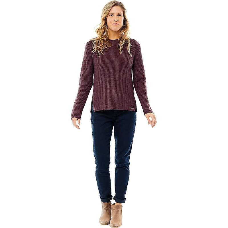 カーブデザイン レディース ニット・セーター アウター Carve Designs Women's Cottage Sweater Merlot