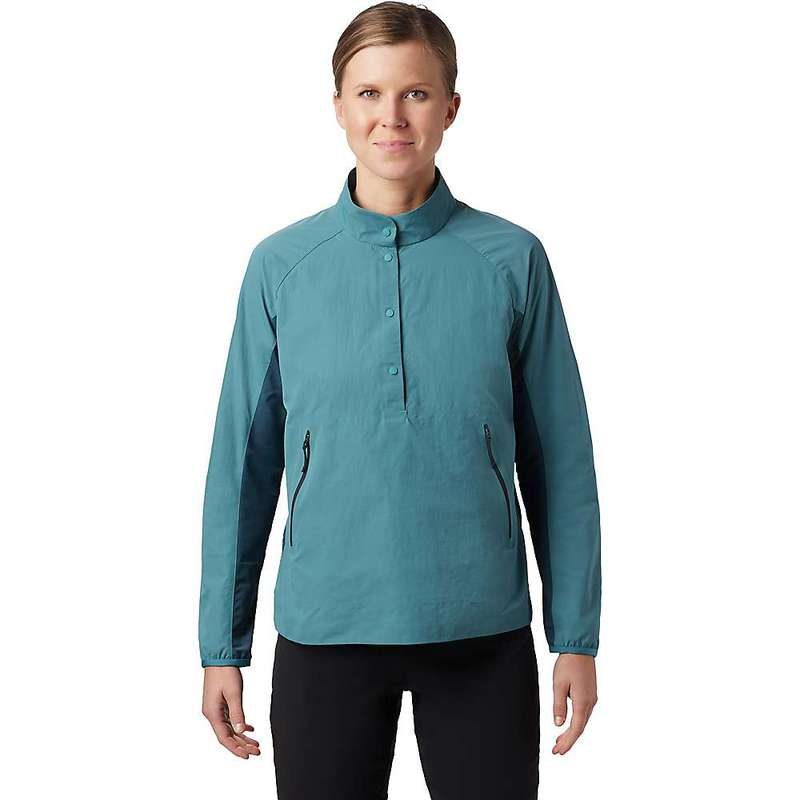 マウンテンハードウェア レディース ニット・セーター アウター Mountain Hardwear Women's Railay Pullover Washed Turq