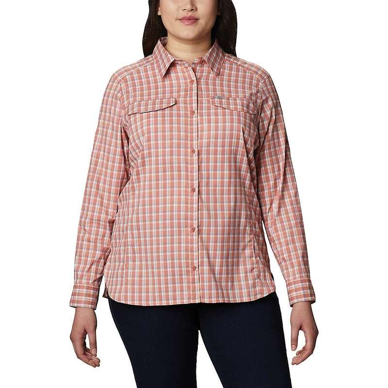 コロンビア レディース シャツ トップス Columbia Women's Silver Ridge Lite Plaid LS Shirt Cedar Blush Gingham Plaid